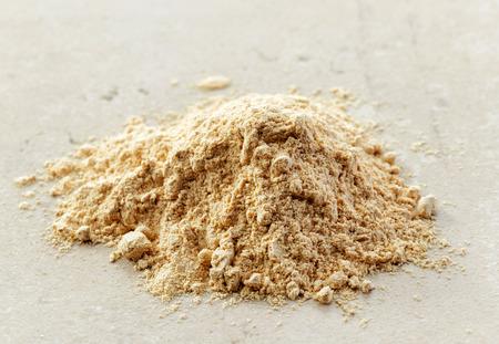 maca: heap of healthy maca powder