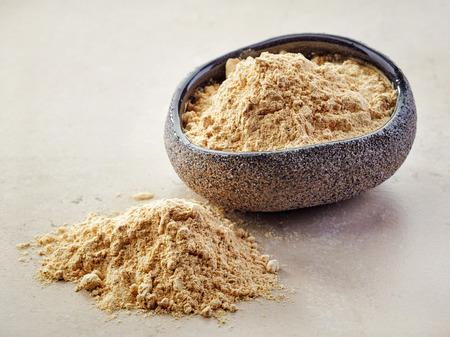 maca: taz�n de polvo de maca saludable