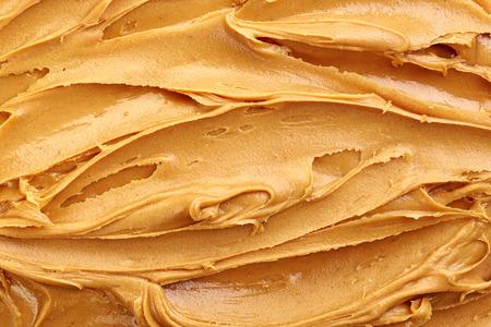 peanut butter: peanut butter background, top view