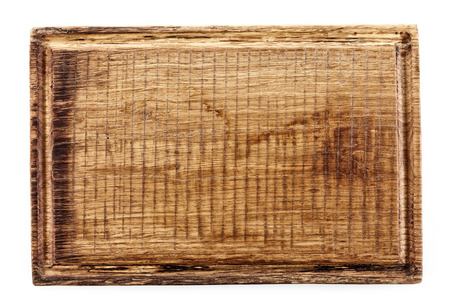 cutting board: wooden cutting board isolated on white background