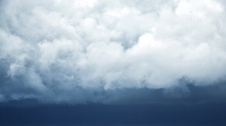 cloudscape: dramatic cloudscape in the storm Stock Photo