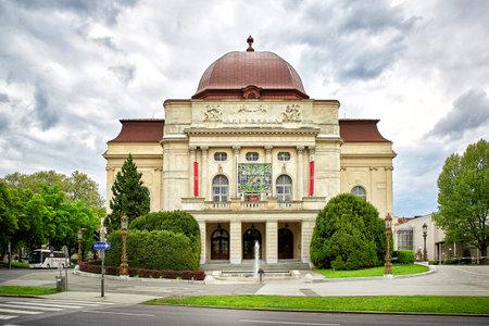 Graz, Austria - MAY 7, 2017: View of Graz Opera; opera house and opera company based in Graz