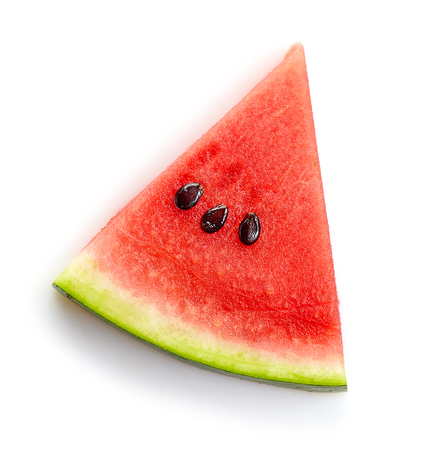piece of watermelon isolated on white background Stock fotó