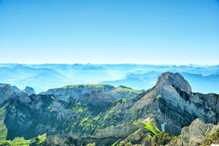 Saentis Mountain Summer Landscape - Alpstein, Switzerland