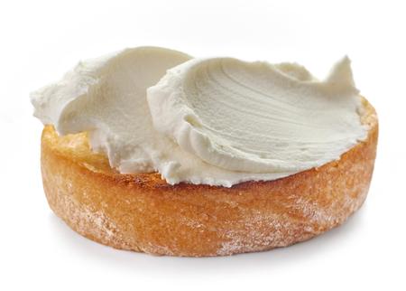 tosty z serem na białym tle, selektywne focus Zdjęcie Seryjne