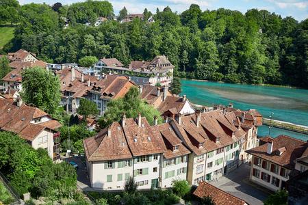 Vue panoramique de la ville de Berne, Suisse