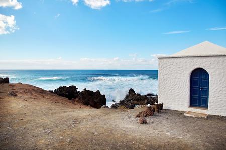 El Golfo, Beautiful landscape of Lanzarote Island, Canaries, Spain