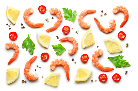 eating pattern isolated on white background