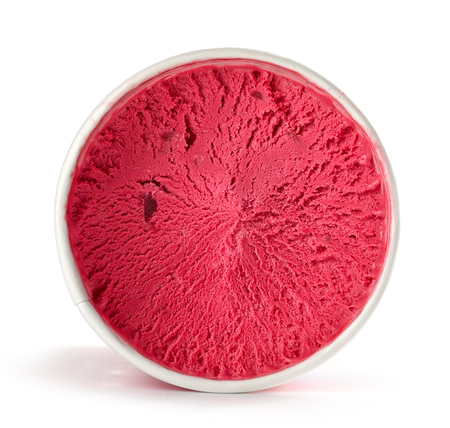 ice cream isolated on white background Stock fotó