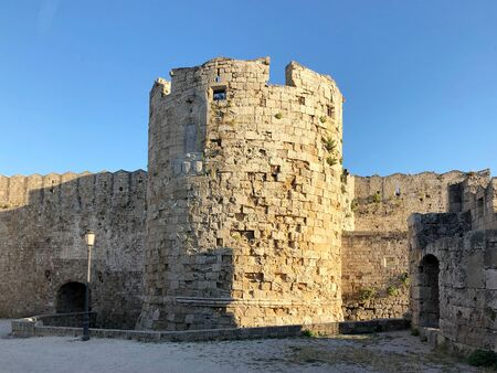 Walls of Palace of the Grand Master of the Knights of Rhodes