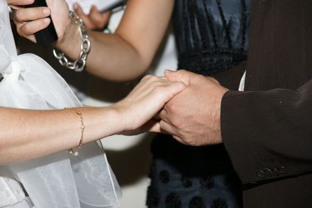 alliances: hands and alliances    Stock Photo