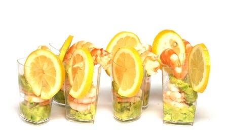 invited: feast invited, lemon slice, acid, citrus, shrimp, Jar, food, recipe, menu, lawyer, mashed potatoes,