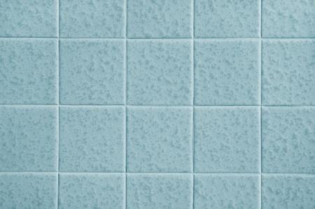 caulk: Pattern of blue tiles Stock Photo
