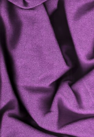 Purple wool background - close-up image Stock Photo - 6531218