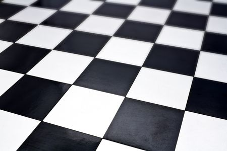 checker: Close up image of chessboard