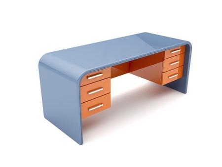 office cabinet: Minimalistic designed desk - 3d image