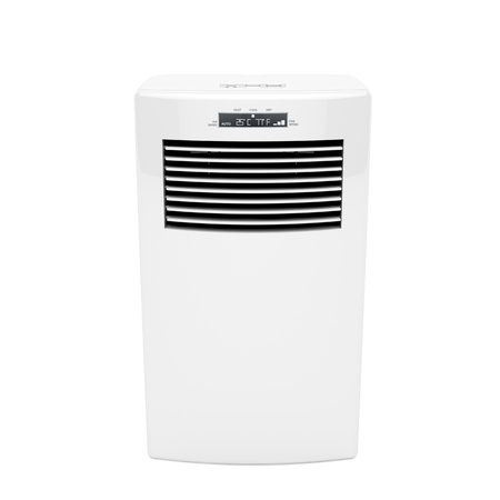 ionizer: Front view of modern mobile air conditioner