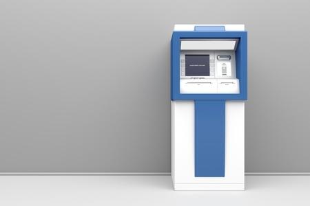 3D-afbeelding van geldautomaat
