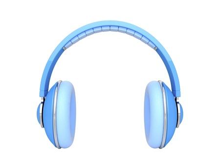 audifonos dj: Auriculares DJ aislado en blanco Foto de archivo
