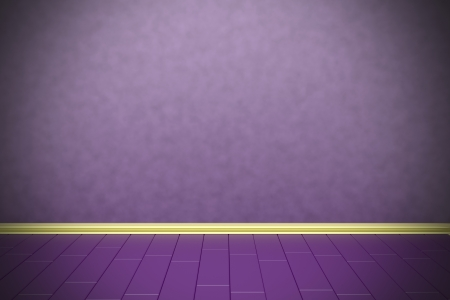 Empty purple wall with vignetting effect