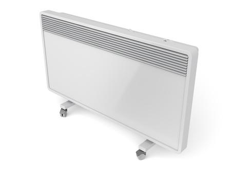 convection: Convezione riscaldatore mobile su sfondo bianco