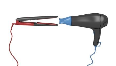 straightener: Hair dryer vs. hair straightener