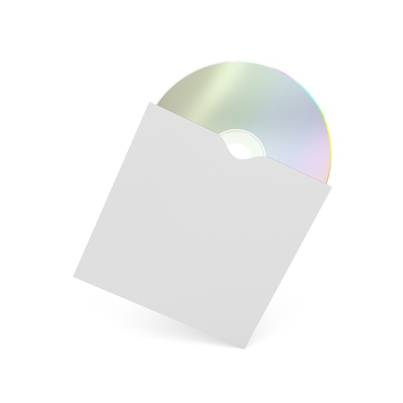 recordable media: Compact disc in paper cover