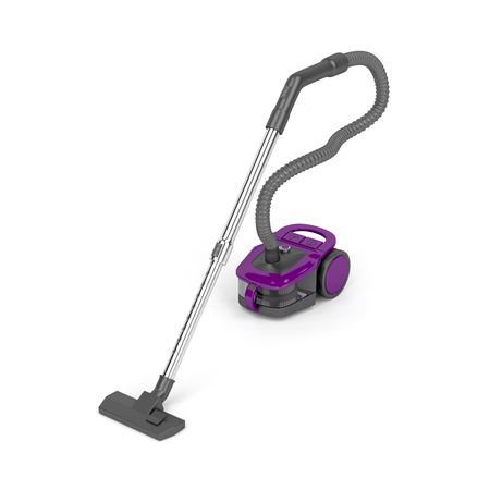 vac: Vacuum cleaner on white background Stock Photo