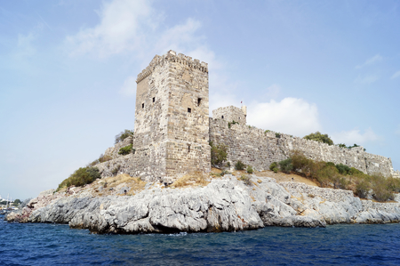 castle buildings: Castle of St. Peter in Bodrum, Turkey