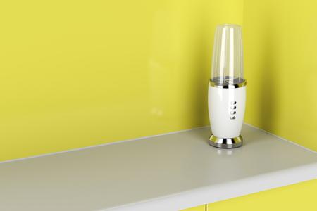 liquidiser: Modern electric blender in the kitchen