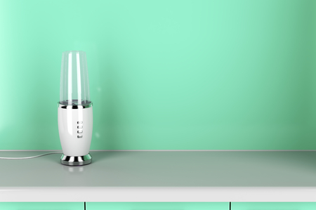 liquidiser: Electric blender in the kitchen