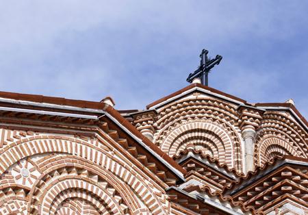 panteleimon: Details of Saint Panteleimon church (Plaosnik) in Ohrid, Macedonia