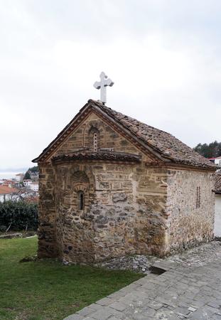 helena: Saint Constantine and Helena church in Ohrid, Macedonia