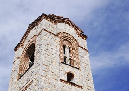 panteleimon: Saint Panteleimon church in Ohrid, Macedonia Stock Photo