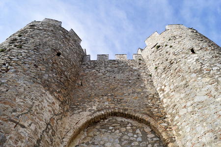 tsar: Tsar Samuels fortress in Ohrid, Macedonia