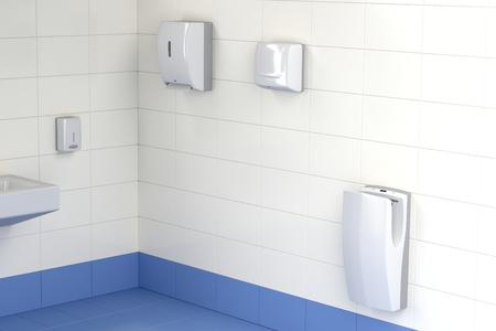 自動紙タオル、ハンド ドライヤー、ジェット ハンド公衆トイレでドライヤー