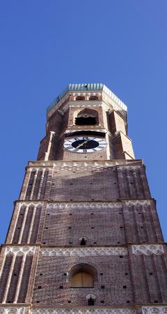 frauenkirche: Frauenkirche tower in Munich, Germany Stock Photo