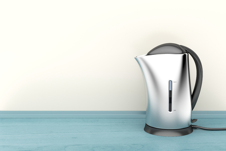 electric kettle: Electric kettle in the kitchen