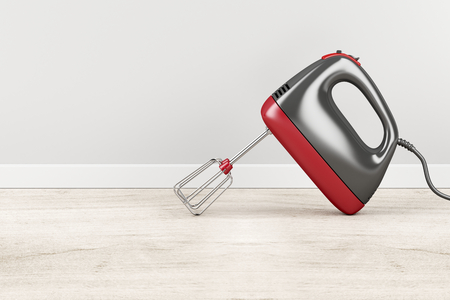 Handheld electric mixer in the kitchen