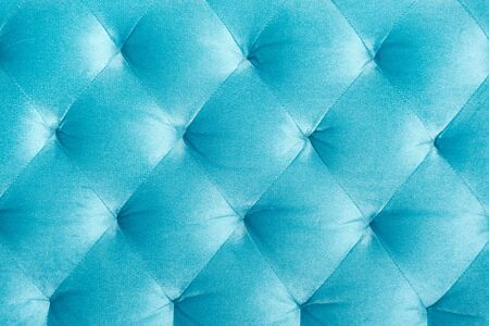 Luxury velour quilted sofa upholstery, home decor texture or background. Furniture design, classic interior and royal vintage material concept. Reklamní fotografie