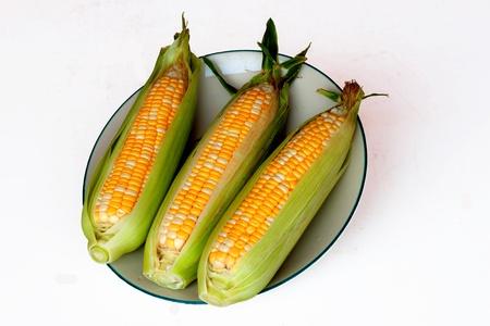 two tone: two tone corn Stock Photo