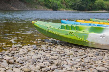 cayak: Kayak at River