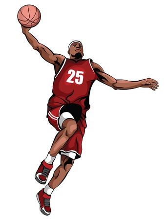 scores: Basketball vector Illustration