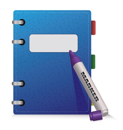 jotter: Blue Diary