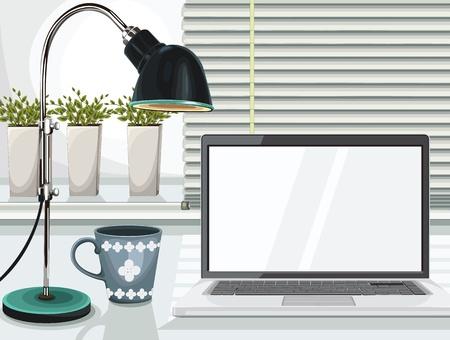 viso: Vector de escritorio Vectores