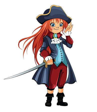 pirate girl: Girl Pirate