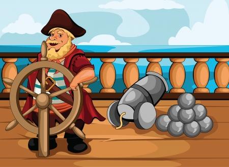 ship deck: Journey