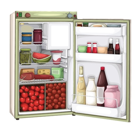 cold storage: Refrigerator