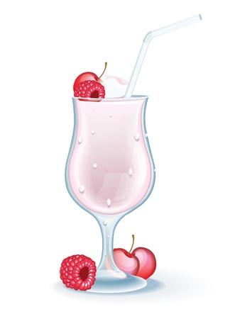 ice cream vanilla: Milk Shake