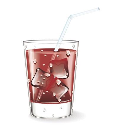 chocolate shake: Chocolate Shake  Illustration